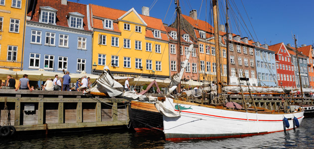 Enjoy the delights of Nyhavn Harbour in Copenhagen, Denmark on our northern European cruises