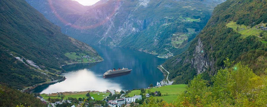Explore the beautiful fjords of Norway, steeped in Viking history