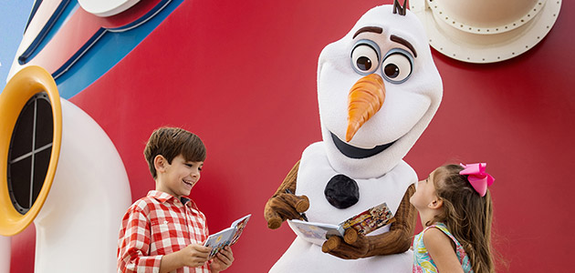 Spend a fun-filled day in the company of your favourite characters from Frozen.