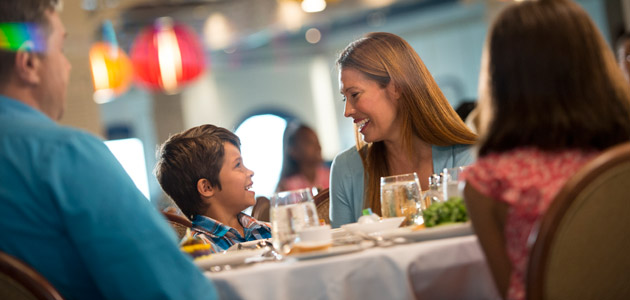 Guests enjoy exceptional dining onboard Disney Dream
