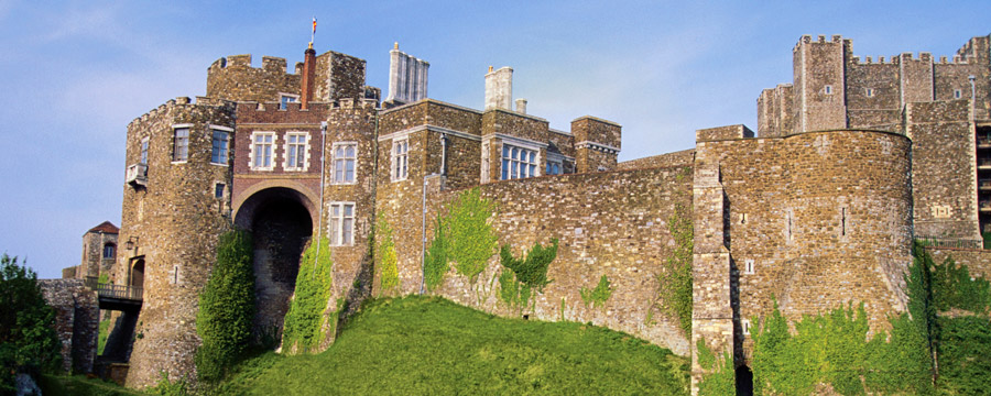 Discover history with a visit to the medieval castle in Dover