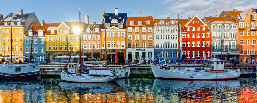 Enjoy the delights of Nyhavn Harbour in Copenhagen
