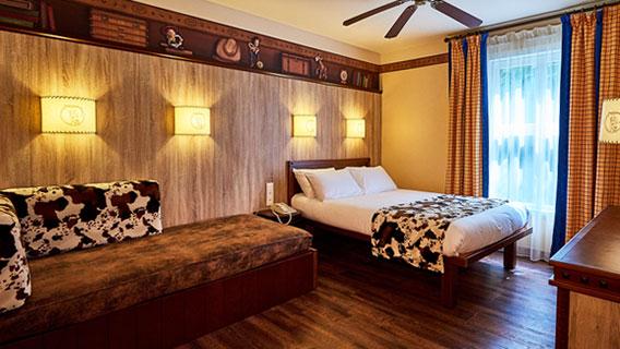 Cheyenne Hotel Disneyland Paris Texas Room