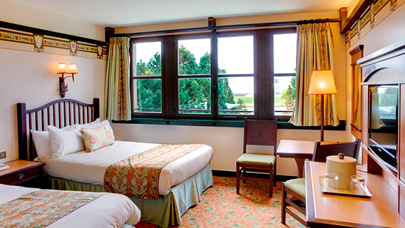 Disney 39 s sequoia lodge disney hotels disneyland paris for Chambre de hotel france