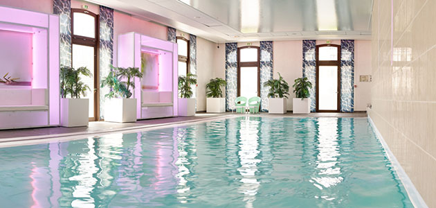 Enjoy a relaxing swim in the hotel pool.