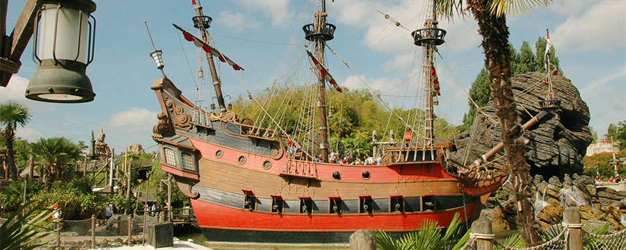 Captain Hook's pirate ship