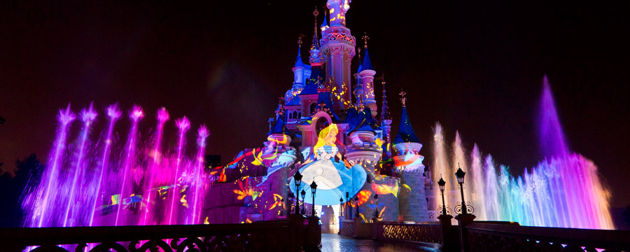 Disney Dreams! show at Sleeping Beauty Castle