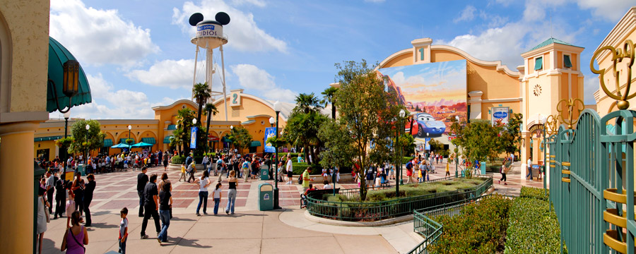34a128b6cd Earful Tower and entrance of Front Lot in Walt Disney Studios Park