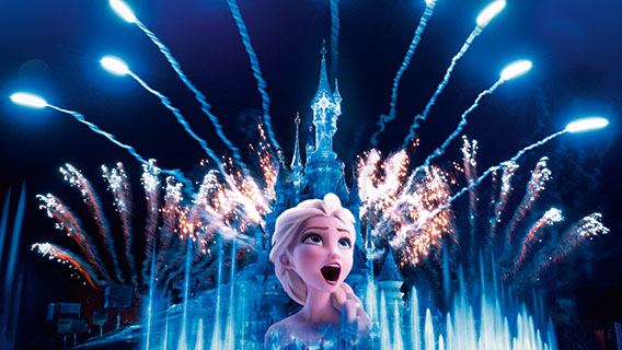 Disney Illuminations will make Sleeping Beauty Castle sparkle like never before.