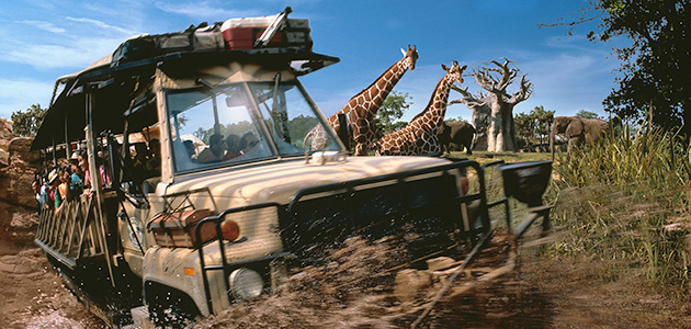 Go on a journey with Kilimanjaro Safaris® at Disney's Animal Kingdom