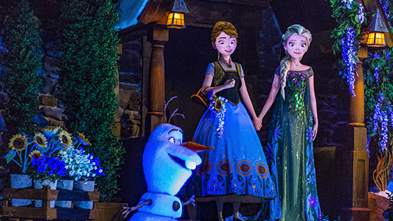 Frozen Ever After in the Norwegian Pavilion