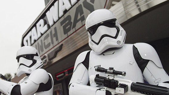 Stormtroopers at Disney's Hollywood Studios Park