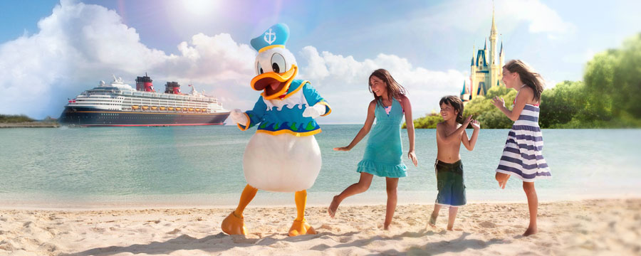 April Cruise & Stay - Enjoy Walt Disney World plus a 3-Night Bahamian cruise from £1154pp!