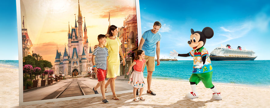 Cruise & Stay Offer - Enjoy 10% Off your Cruise + $100 Disney Cruise Spending Money