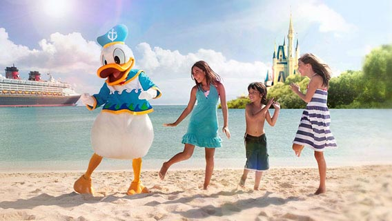 Make your holiday even more magical by combining your Caribbean Disney Cruise with a stay at Walt Disney World in Florida.