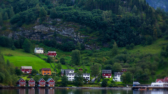 Explore the beautiful sights of Northern Europe, steeped in Viking history.