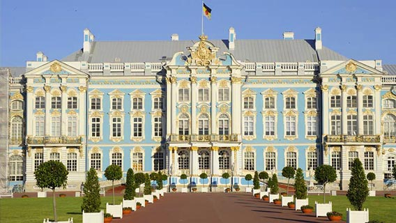 Catherine Palace in St Petersberg