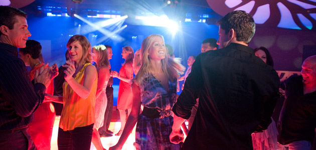 Nighttime world-class entertainment at Evolution nightclub onboard Disney Dream.