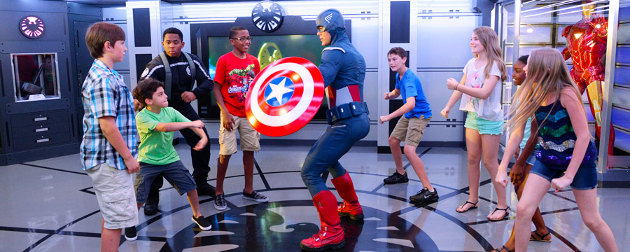 Marvel Avenger's Academy in Disney's Oceaneer Club