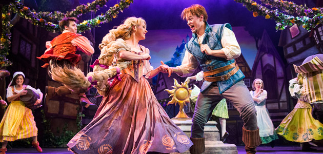 Tangled: The Musical, presented exclusively aboard the Disney Magic!