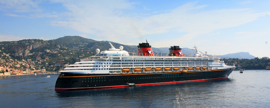 Disney Magic in port, Villefranche