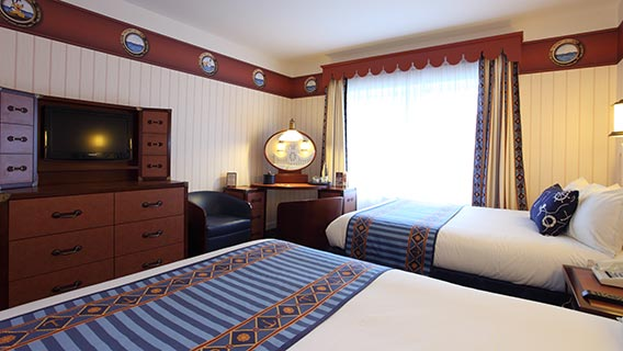 Disney 39 s newport bay club disney hotels disneyland paris for Chambre de hotel france