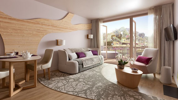 Cocoon VIP 3 Bedroom Apartment in Villages Nature® Paris