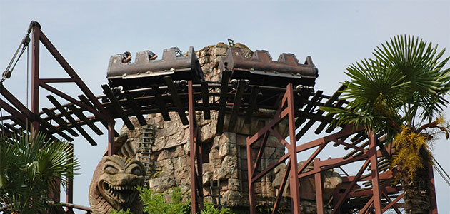 Big Thrills await on Indiana Jones and the Temple of Peril
