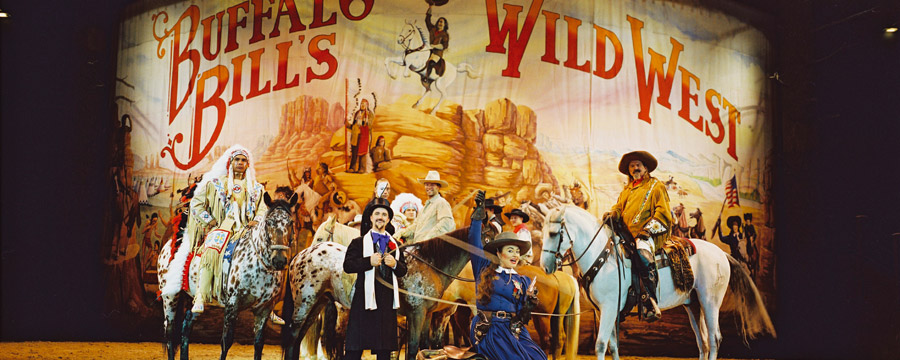 Buffalo Bill's Wild West Show... with Mickey and Friends