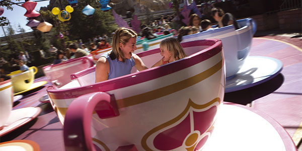 Go for a spin at the Mad Hatter's Tea Party