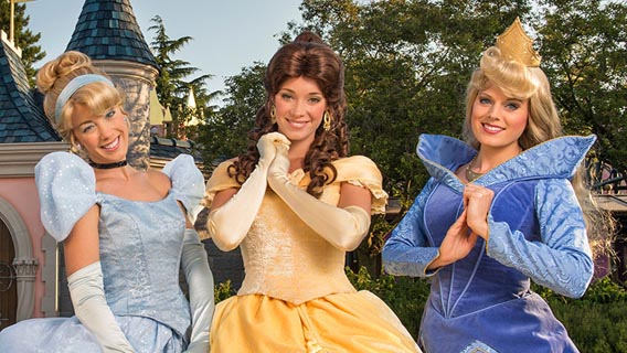 Meet your favourite Disney Princess at the Princess Pavilion