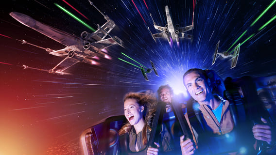 Feel the Force on Star Tours