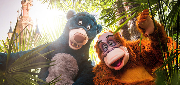 Guests partied with Baloo and King Louie at The Lion King & Jungle Festival
