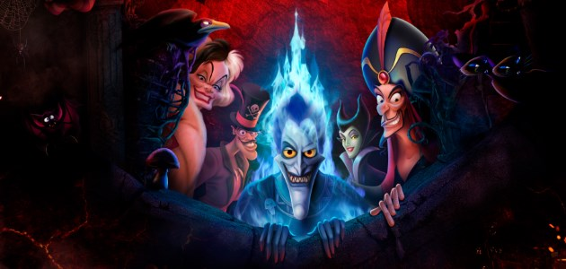 Join your favourite Disney Villains for Disney's Halloween Party.