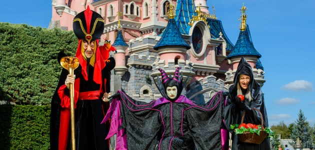 Beware of the spooky Disney villains at Disneyland Park.