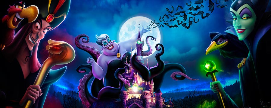 Disney villains descend on Sleeping Beauty castle this Halloween
