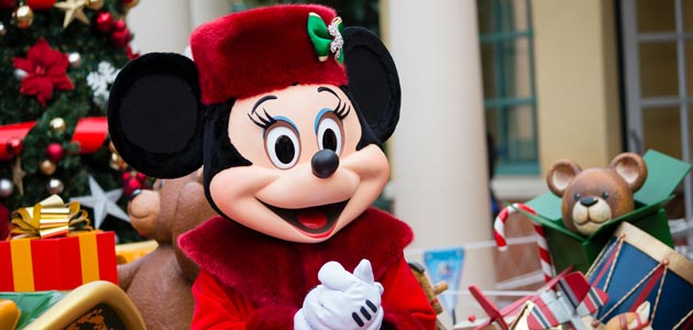 The World's Biggest Mouse Party featuring Mickey, Minnie and Santa at Disneyland Paris