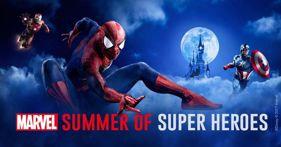 Summer Of Super Heroes Disney Deals Disneyland 174 Paris