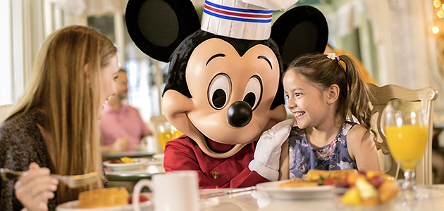 'Enjoy breakfast with chef Mickey'