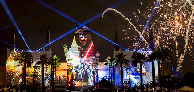 Star Wars: A Galactic Spectacular at Disney's Hollywood Studios.