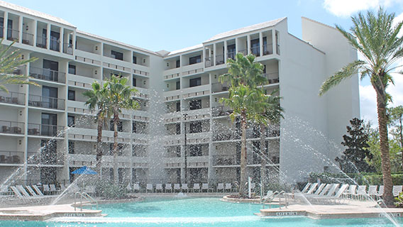 The pool at Holiday Inn Orlando