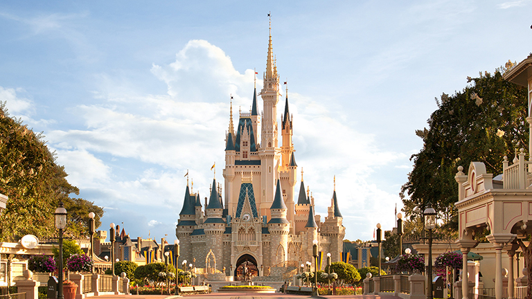 Cinderella castle at Magic Kingdom theme park